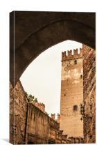 Verona Castle, Canvas Print