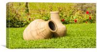 Wine Pots, Canvas Print