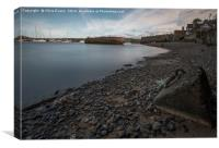 Conwy Harbour , The Grey Lady , Canvas Print