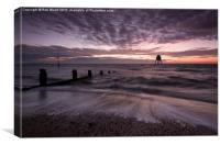 Dovercourt Sunrise, Canvas Print