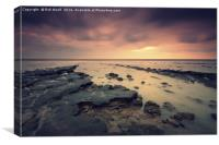 Colours of the Naze, Canvas Print