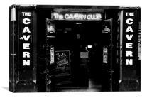 Liverpool, Cavern Club., Canvas Print