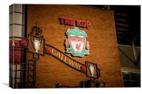 The Kop, Liverpool Football Club, Canvas Print