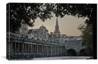 Bath, Somerset, Canvas Print