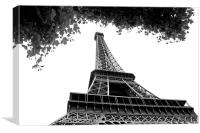 Eiffel Tower , Canvas Print