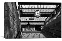 Brief Encounter Station, Canvas Print