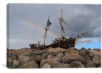 Pirates Treasure, Canvas Print