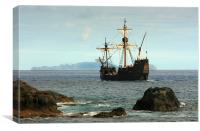 The Pirate Ship, Canvas Print