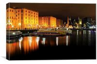 Liverpool Albert Dock, Canvas Print