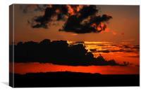 Magical Hilbre Island Sunset, Canvas Print