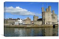 Caernarfon Castle , Canvas Print