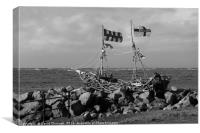Grace Darling Pirate Ship, Canvas Print