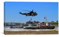 Royal Navy Special Forces, Canvas Print