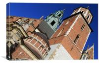 The Cathedral Basilica of St Stanislaw Vaclav , Canvas Print