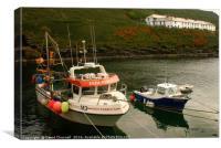 Boscastle Harbour , Canvas Print