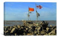 Grace Darling Pirate Ship , Canvas Print