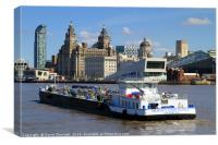 Mersey Endurance, Canvas Print