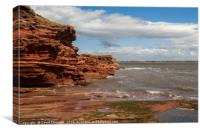 Hilbre Island High Tide, Canvas Print
