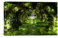 Green Gateway, Canvas Print