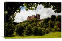 Powis Castle , Canvas Print