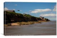 Hilbre Island High Tide , Canvas Print