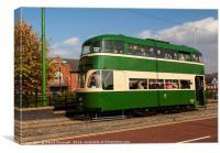 Liverpool Baby Grand Tram 245, Canvas Print