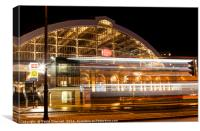 Lime Street Station Liverpool, Canvas Print
