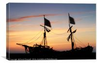 Grace Darling Sunset , Canvas Print