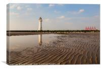 New Brighton Lighthouse , Canvas Print