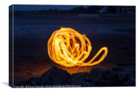 Dancing With Fire, Canvas Print