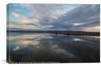 West Kirby Marine Lake   , Canvas Print