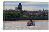 Royal Iris Mersey Ferry, Canvas Print