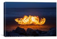 Firestorm , Canvas Print