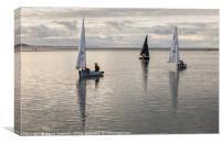 Calm Water Sailing, Canvas Print