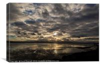 West Kirby Cloudscape, Canvas Print