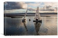 Gentle Sailing , Canvas Print