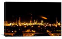 Ellesmere Port Refinery, Canvas Print