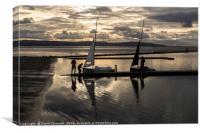 Summer Sailing, Canvas Print
