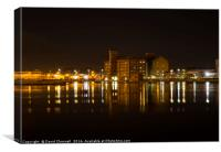 East Float Apartments At Wirral Waters , Canvas Print