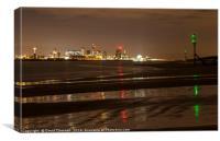 Majestic Liverpool Cityscape , Canvas Print