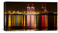 Liverpool Docks , Canvas Print