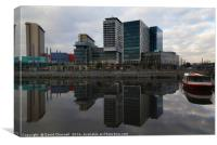 Media City , Canvas Print