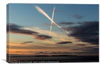 Hilbre Island Kiss, Canvas Print