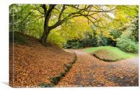 Autumn Path , Canvas Print