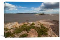 Hilbre Island High Tide , Canvas Print