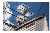 Cutty Sark Abstract, Canvas Print