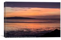 West Kirby Twilight Glow , Canvas Print