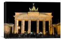 Brandenburg Gate, Canvas Print
