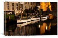 Bruges Canals , Canvas Print