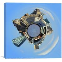 Liverpool World , Canvas Print